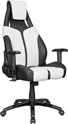 Home Collection24 Silla de Oficina lasport Racing – Silla Respaldo 175 ° Ajustable | giratoria hasta