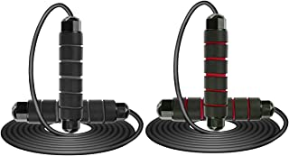 PENCK Workout Jump Rope for Exercise - Jump Ropes for Indoor Outdoor Adjustable Tangle-Free with Ball Bearings Rapid Speed...