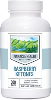 Raspberry Ketones Dietary Supplement for Weight Loss - Best Value 300 Count - Natural Weight Management, Metabolism Boost and Appetite Suppressant, 400mg