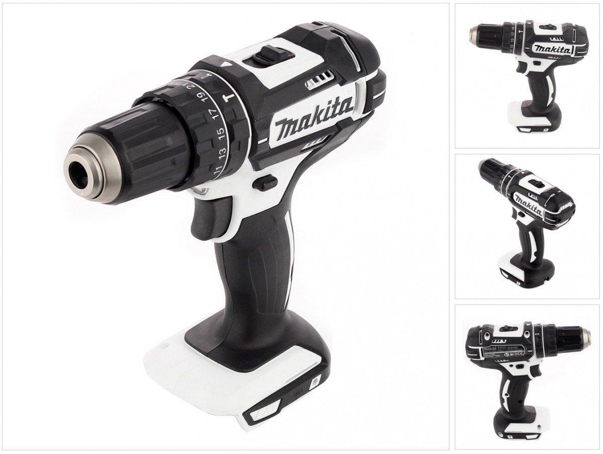 LARGE Makita DHP482RM1JW Combi 18v 4Ah Black /& White Drill Cordless LXT Li-ion 18 V White//Black