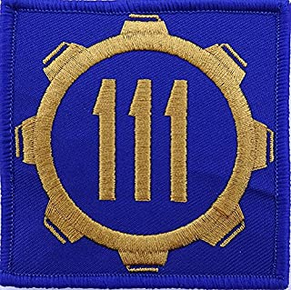 Vault 111 Fallout Style Patch Cosplay Hook and Loop 3