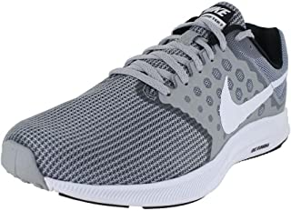 Downshifter 7 Wolf Grey/White/Black Mens Running Shoes