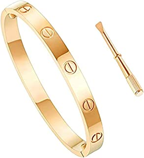 Love Bracelet Stainless Steel Cuff Bangle Titanium Steel...