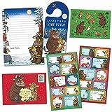 Paper Projects 01.70.24.066 Paquete de cartas navideñas para Papá Noel y etiquetas de regalo