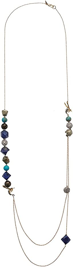 Alexis Bittar - Enameled Hornet Multi-Strand Necklace