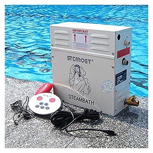 Industrial y científico 12KW Home Use Steam Machine Generador de vapor Sauna Seco Secuencia Horno Húmedo Steam Steamer Controlador digital