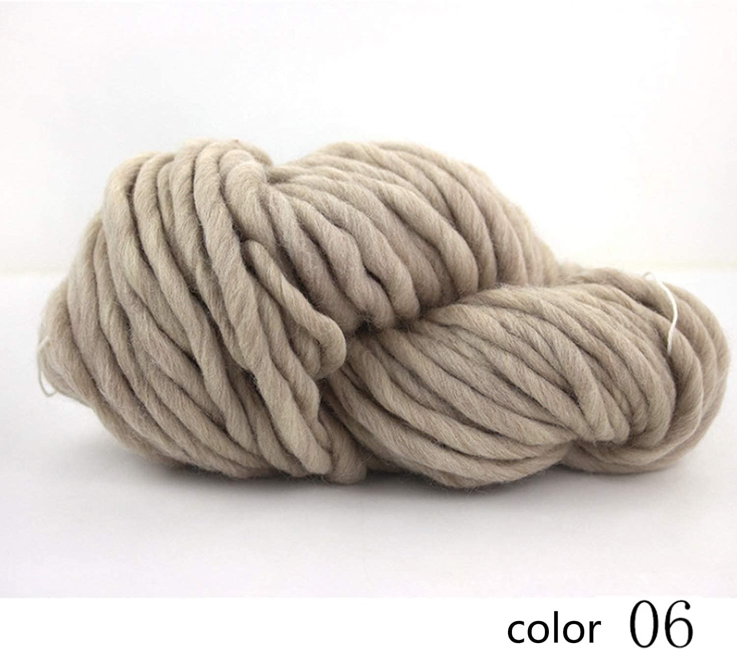 Yarn knitting yarn soft woven wool yarn hat line scarf line 1 box about 220 g 1 0.2 NM 8 colors available