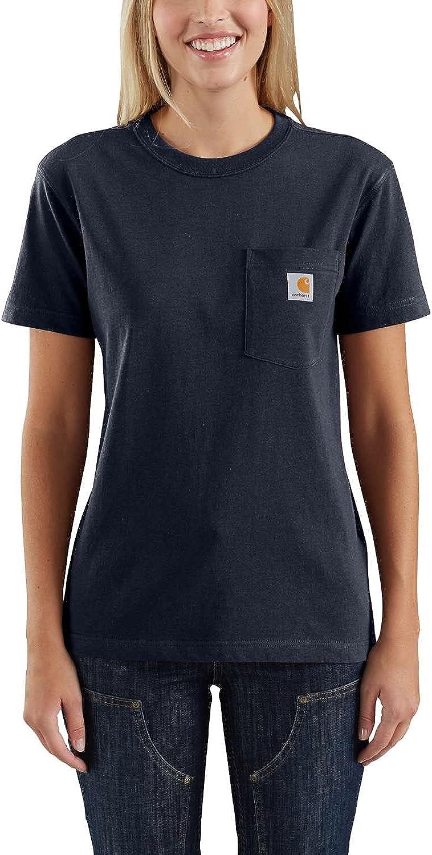 Carhartt Women's Wk87 Workwear Pocket Short Sleeve T-Shirt (Regular and Plus Sizes)