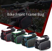 حقيبة هاتف الدراجة Lixada أعلى أنبوب حقيبة دراجة الهاتف حامل الدراجة حقيبة الإطار الأمامي في الهواء الطلق الدراجات الدراجا...