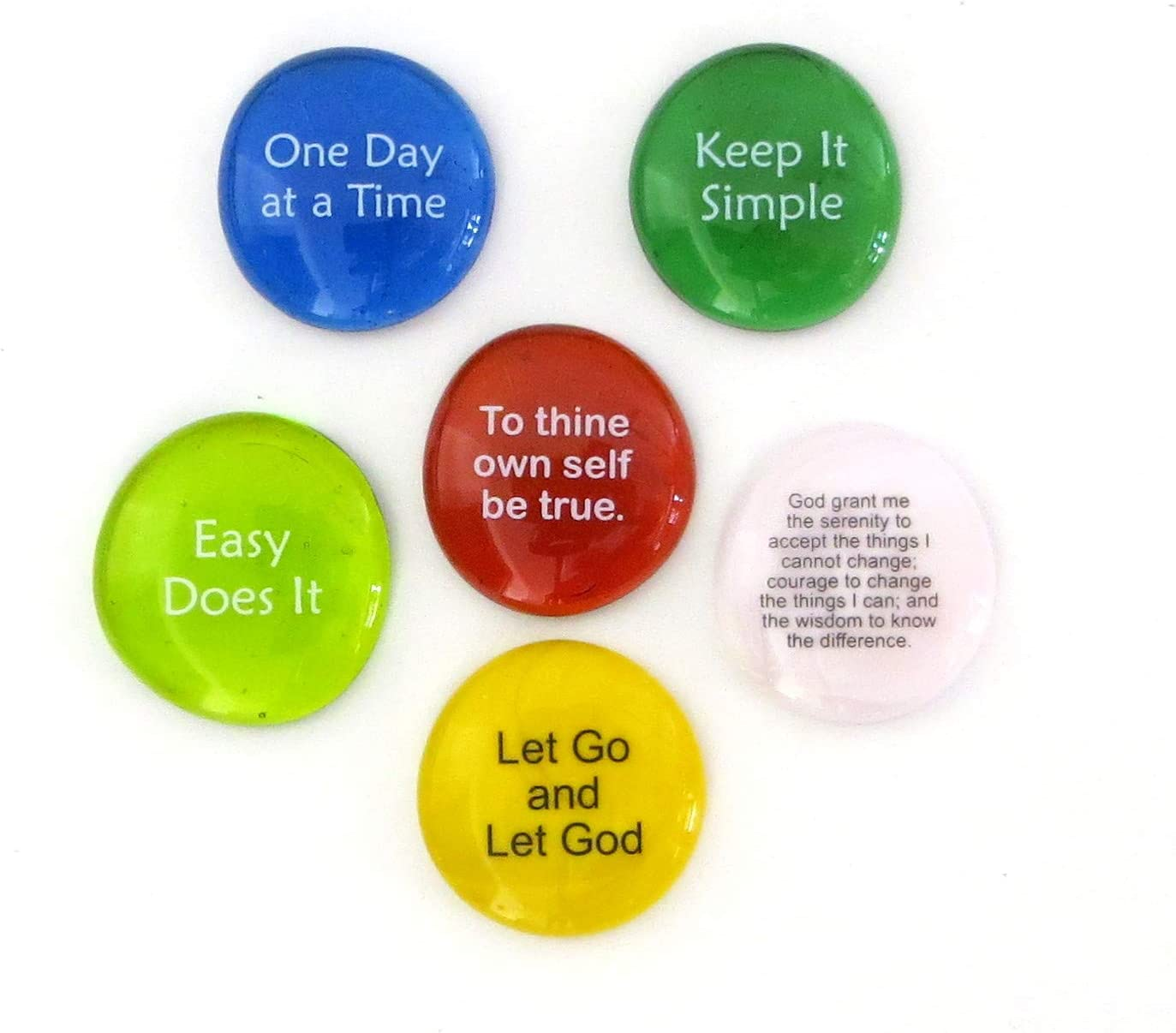 Lifeforce Glass Recovery Super-cheap Stones 6 Daily Encourage Reminders Baltimore Mall for
