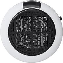 Mini chauffage électrique chauffant chauffant monté sur ordinateur adapté à la maison Détaché (Color : White)