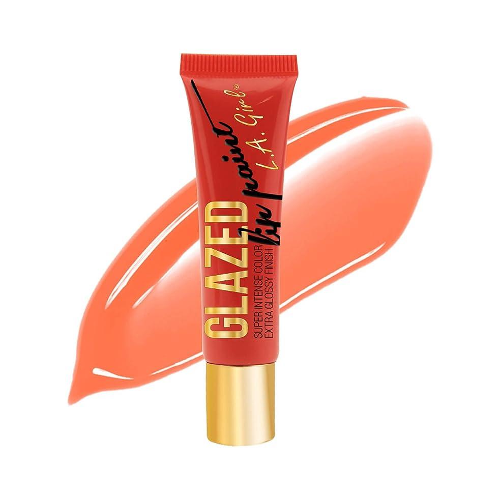 わかるリースマナーLA GIRL Glazed Lip Paint Tango (並行輸入品)