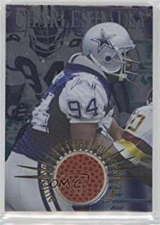 Charles Haley (Football Card) 1996 Collector's Edge Advantage - Authentic Super Bowl Game Ball #SB26