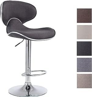 grigio Brand Movian Tarna Lu x La x A 32 x 32 x 77 cm Set da 2 sgabelli da bar
