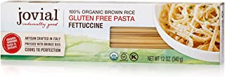 Jovial Grain-Free Brown Rice Fettuccine | Certified Gluten-Free | USDA Certified Organic | Made in Italy | 12 oz (1 pack)