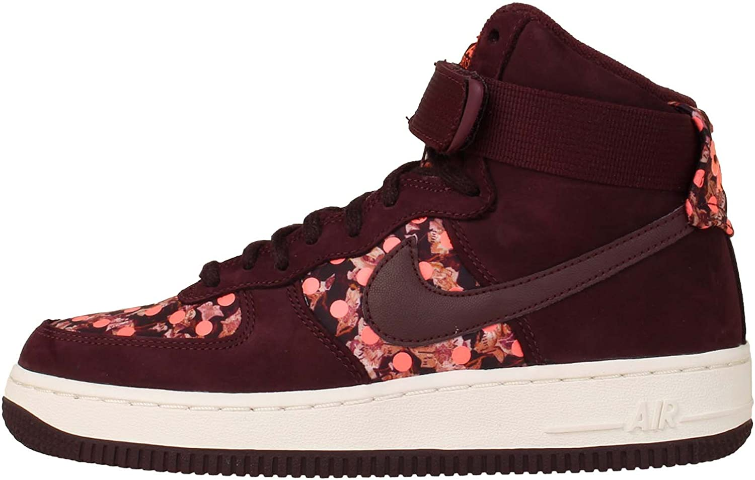 Nike Womens Air Force 1 HI Faux Suede Strappy Fashion Sneakers