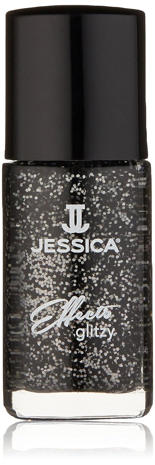 市長機関内向きJessica Effects Nail Lacquer - Bling in Black - 15ml/0.5oz