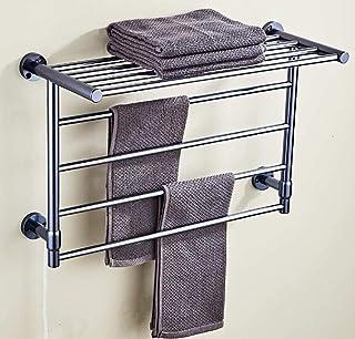 Toallero radiador Rail, toalla eléctrico tendedero estante, estante de la pared del baño, la temperatura constante inteligente toallero deshumidificación, fuerte capacidad de carga, bajo consumo de en