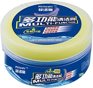 Cleaning Cream,Multifunctional Leather Refurbishing Cleaning Agent,Cleaner Care Detergent,Magic Wipe Cleaner,Repair Tool Cream with Sponge-330g (B:1pcs*Cream +1pc*Sponge)