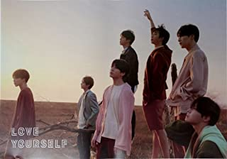 BTS BANGTAN BOYS - LOVE YOURSELF 轉 Tear [Y ver] OFFICIAL POSTER 23.5 x 16.5 inches