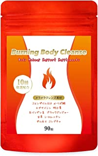 ダイエット サプリ Burning Body Cleanse 燃焼系 サプリメント コンブチャ クレンズ スリム 美ボディ サポート 90粒/30日分
