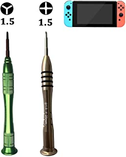 YOOWA Nintendo Switch Triwing Screwdriver Set Repair Tool Kit Y00 and PH000 Phillips Screwdriver for Joy-con Controller, Kickstand Replacement, Nintendo Game Consoles Repair and Battery Replacement