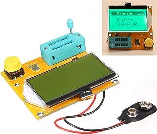 LCR-T3トランジスタテスタ128x64 LCD抵抗容量ダイオードESR SCRインダクタンスメータ