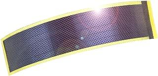 JIANG Small Flexible Thin Film Solar Power Panel Cells DIY boondocking ETFE photovoltaic 0.3W1.5V 240ma (Gold)