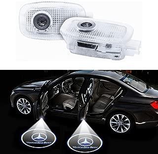Klinee Easy Installation Car Door LED Logo Projector Ghost Shadow Lights Symbol Emblem Courtesy Step Lights