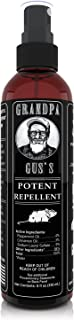 Grandpa Gus's Mouse Rodent Repellent Spray - Natural Peppermint Oil For Mice and Rat - 8 FL Ounce