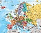 GB Poster Cartina dell Europa 2014-Mini Poster 40 x 50 cm