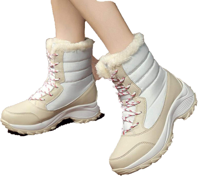 Women Boots Non-Slip Waterproof Winter Ankle Snow Boots Women Platform Winter shoes