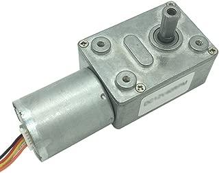Bringsmart DC ギア モーター ブラシレス12V 6rpm, 長い寿命 電動モーター 軸 直径6mm, 電動機 出力 トルク25KG.CM 電動カーテン用、ロボット用 (DC 12V 6rpm)