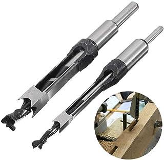 Fräsning Träbearbetningsverktyg 10mm / 16mm Square Hole Saw Auger Borr Bit Mortising Chisel Auger Borr (Hole Diameter : 10mm)