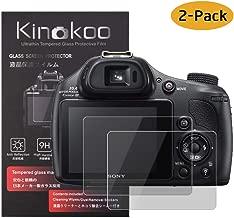 2 x SWIDO/® Protector de pantalla Canon Powershot SX430 IS Protectores de pantalla de pel/ícula CrystalClear invisible
