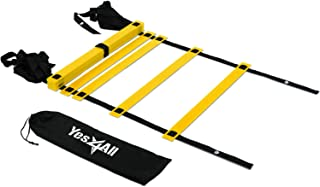 Yes4All Agility Ladder � Speed Agility Training Ladder with Carry Bag