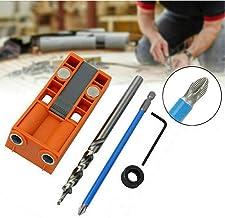 ORETG45 - Kit de plantilla de agujero de localización, kit de plantilla de agujero de bolsillo, casa con guía de taladro magnético para carpintería, No nulo, como se muestra en la imagen, 5