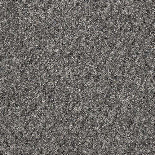 Kunstrasen Rasenteppich mit Noppen | Höhe ca. 7,5mm | 133, 200 und 400 cm Breite | grau | Meterware, verschiedene Größen | Größe: 3 x 4 m