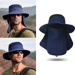 Sombrero de Sol Gorra Pesca Sombrero de Pesca Sombreros de Pesca de Sol Sombrero de Sol de ala Ancha Unisex Sombrero de Pe...