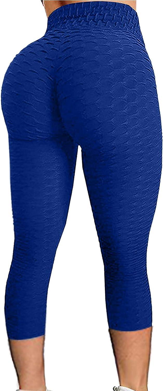 YUehswet Leggings,Women High Waist Yoga Pants Tummy Control Slimming Booty Leggings Workout Running Butt Lift Tights