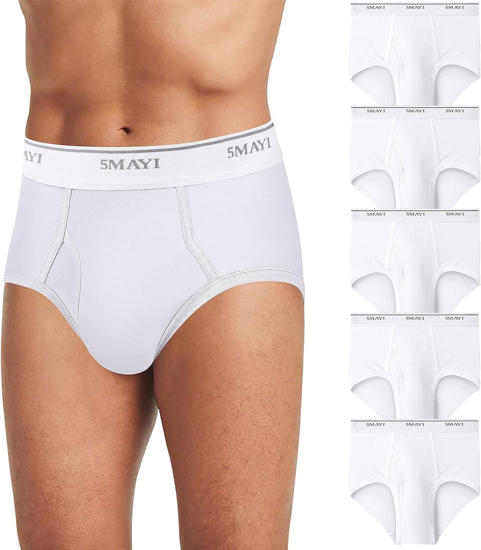 5Mayi Spasm price Direct store Mens Briefs Underwear Multipack Cotton Men's Soft Breathab
