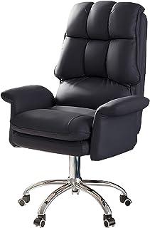 Escritorio ergonómica silla giratoria Silla de oficina ejecutiva con respaldo alto con brazos y respaldo, silla de oficina reclinable para niña, dormitorio, sala de estudio, altura del asiento: 43-5