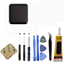 Ogodeal Screen Replacement For Apple Watch Series 1 A1802 and (1st Generation) A1553 LCD and Digitizer Screen Assembly Repair Kit with Repair Tool Set 38mm Sport Version