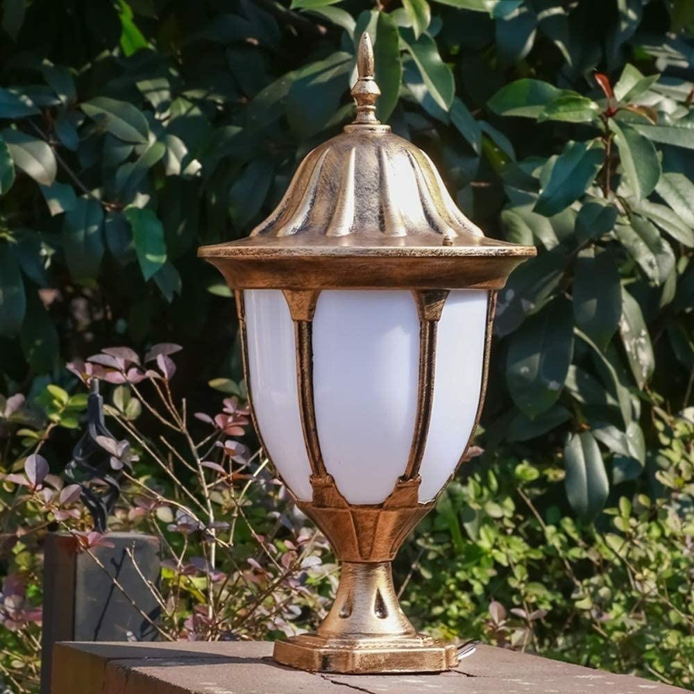 Abgail Outdoor IP54 Sale Now free shipping Waterproof Column Pillar European Lamp Light