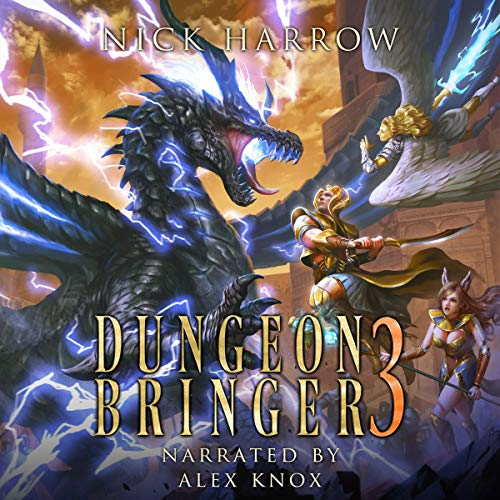 Dungeon Bringer 3 audiobook cover art