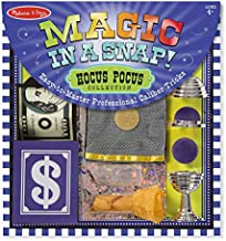 Melissa & Doug Magic in a Snap! Hocus Pocus Collection Magic Tricks Set (Professional Caliber Tricks, 12 Pieces, Great Gift for Girls and Boys – Best for 4, 5, 6, 7 and 8 Year Olds)