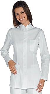 Manica Lunga Bianco+Blu Cina Isacco Bianco+Blu Cina S Isacco Casacca Costarica 65/% Poliestere 35/% Cotone
