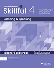Skillful 2nd edition Level 4 - Listening and Speaking/ Teacher's Book with Presentation Kit, Teacher's Resource Centre and Online Workbook