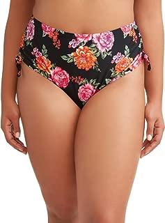 Terra & Sky Women's Plus Size Terra Floral Swimsuit Bottom