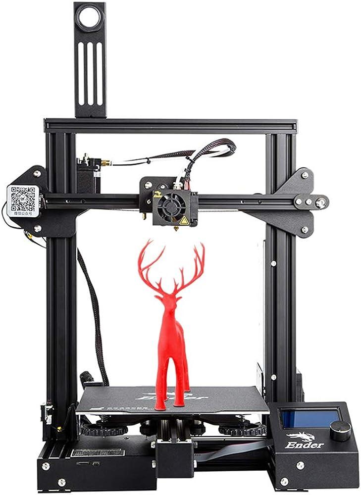 Creality 3d,stampante 3 d, installata con meanwell power,ripresa del volume di stampa 220 * 220 * 250mm Ender-3 Pro